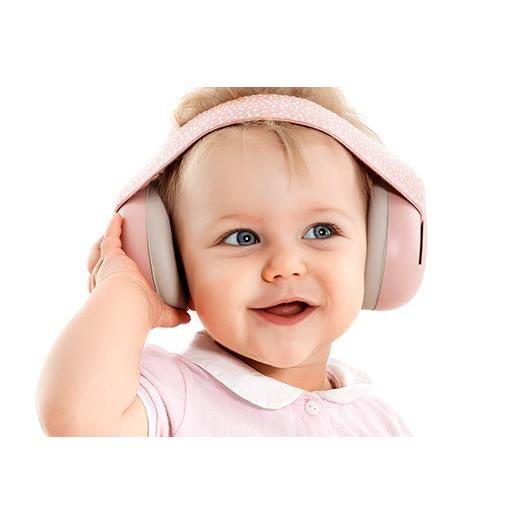 Reer - Casti antifonice pentru bebelusi SilentGuard Baby Girl