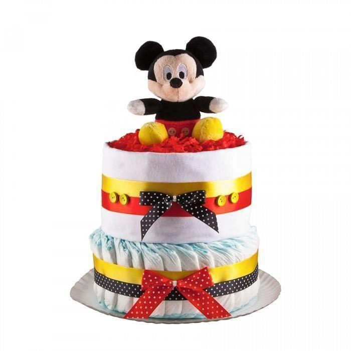 Tort din scutece Pampers - Mickey Mouse