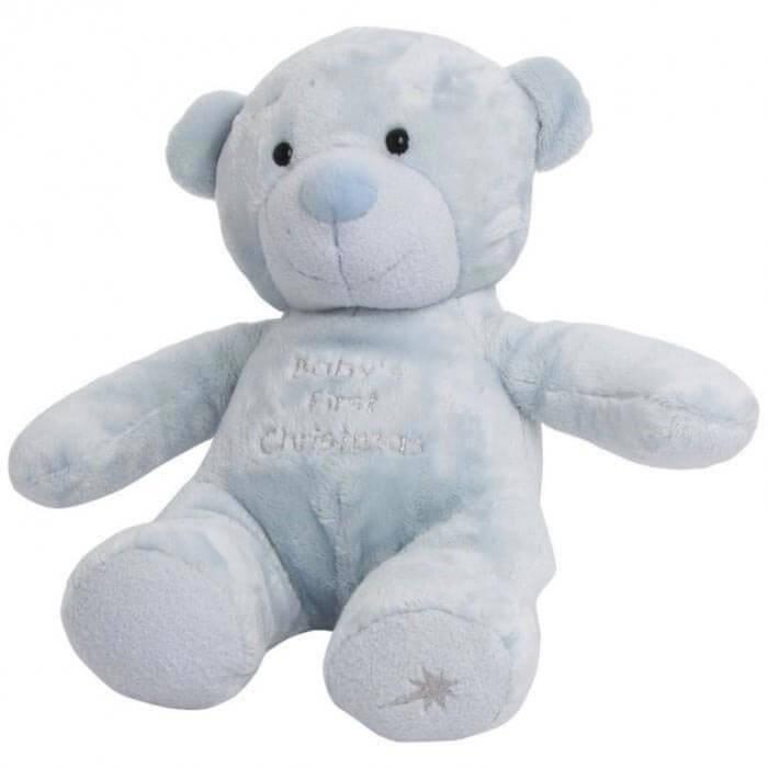 Ursulet de plus bleu Baby's First Christmas