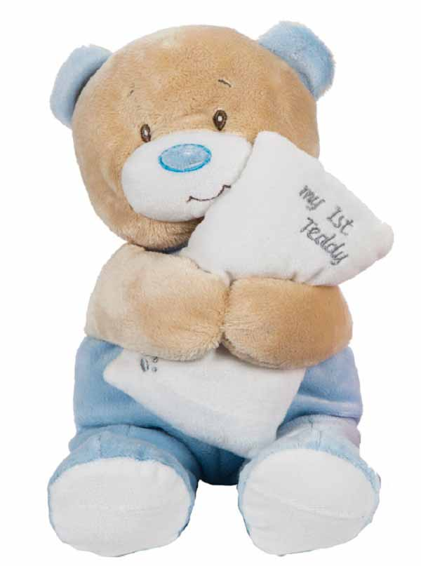 Ursulet de plus My first Teddy bleu
