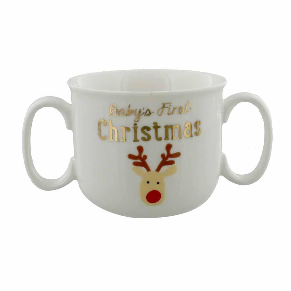 Canuta cu ren Baby-s First Christmas