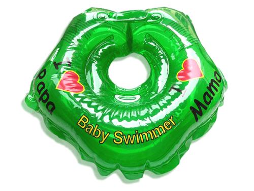 BabySwimmer - Colac de gat pentru bebelusi - I love mama (0-24 luni)
