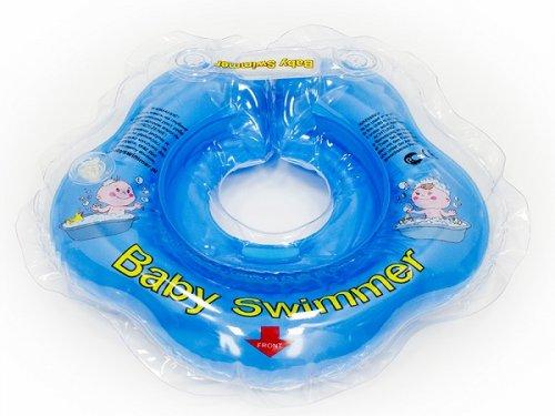 BabySwimmer - Colac de gat pentru bebelusi cu zornaitoare (0-24 luni)