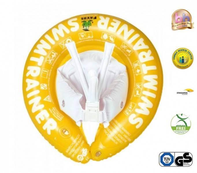 Swimtrainer Classic - Colac pentru copii 4-8 ani - galben