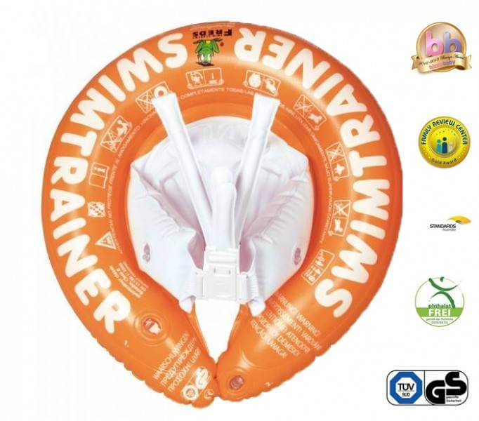 Swimtrainer Classic - Colac pentru copii 2-6 ani - portocaliu