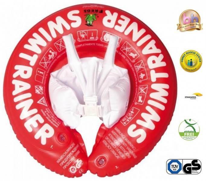 Swimtrainer Classic - Colac pentru copii 3luni-4ani - rosu