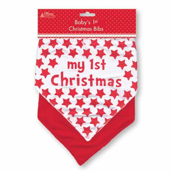 Set 2 bavetele My first Christmas