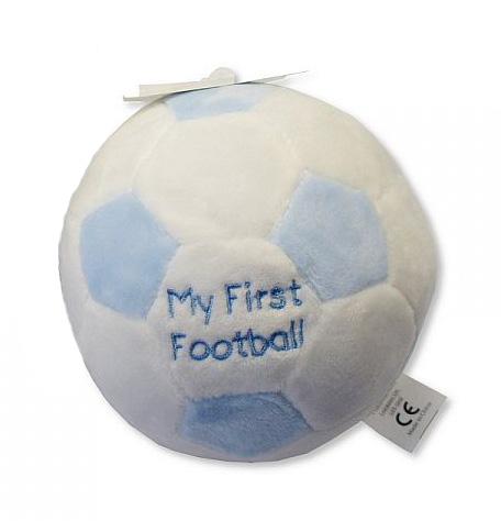 Minge de plus cu zornaitoare My First Football