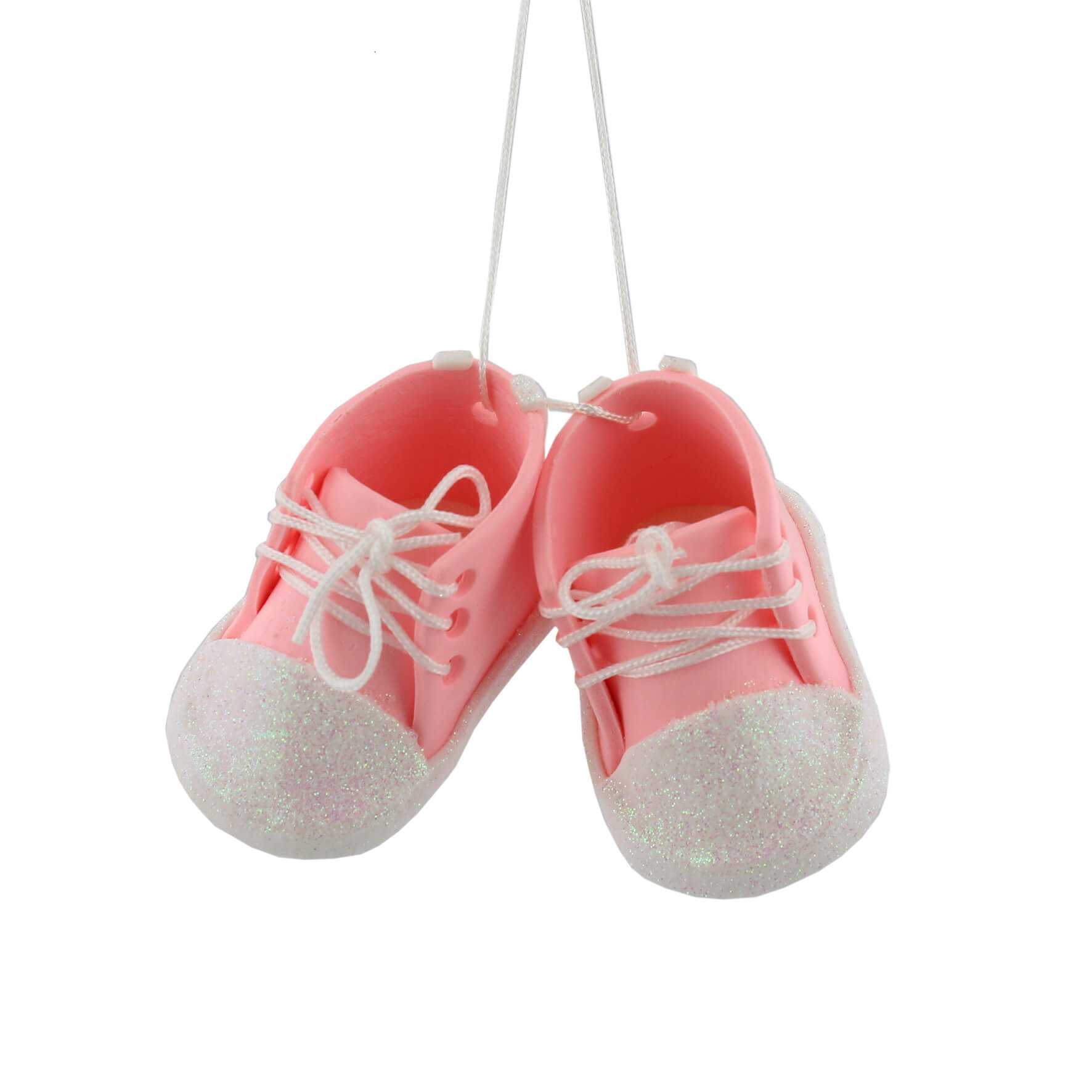 Ornament pentru brad botosei roz